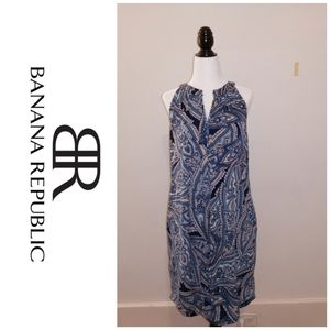 Banana republic aqua dress 👗